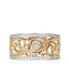 Enchanted Disney 0.20ctw Diamond Band Ring