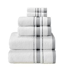 Enchasoft Zero-Twist Turkish Cotton 6-piece Towel Set