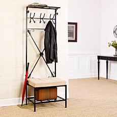 Entryway Storage Rack/Bench Seat