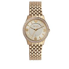 "ESCAPE Women's ""Clementine"" Goldtone Bracelet Watch"