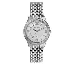"ESCAPE Women's ""Clementine"" Silvertone Bracelet Watch"