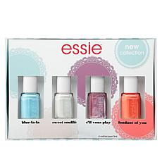 Essie Parisian Flair Nail Lacquer 4-piece Mini Set