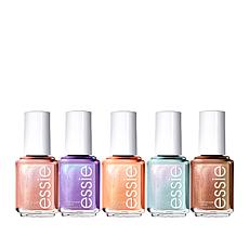 Essie Seaglass Shimmer Nail Lacquer Bundle