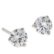 Ever Brilliant 14K White Gold 0.5ctw Lab Grown Diamond Stud Earrings
