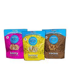 Evoke Foods Happy Snaps (12) 4 oz. Bags of Oat Crisps