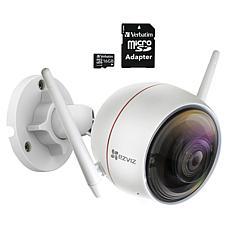 EZVIZ C3W (ezGuard) 1080p HD Outdoor Wi-Fi Camera w/Memory Card