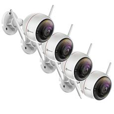EZVIZ C3W (ezGuard) 4-pack 1080p Full HD Outdoor Wi-Fi Camera