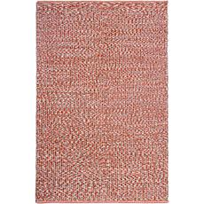 Fab Habitat Toledo Rust Cotton Indoor Rug - 6' x 9'