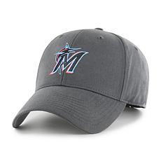Fan Favorite Miami Marlins MLB Charcoal Cleanup Adjustable Hat