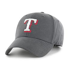 Fan Favorite Texas Rangers MLB Charcoal Cleanup Adjustable Hat