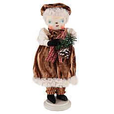 Fannie Snow Woman Figurine