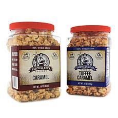 Farmer Jon's 2-pack Caramel & Toffee Caramel Popped Popcorn Auto-Ship®