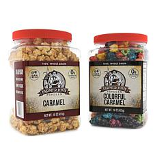 Farmer Jon's Popcorn 2-pk 16 oz. Caramel & Colorful Caramel Auto-Ship®