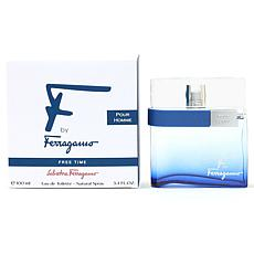 Ferragamo F Free Time Pour Homme EDT Spray 3.4 oz.