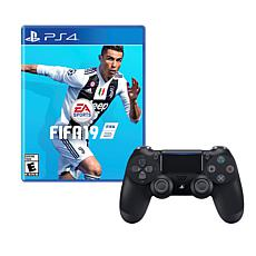 """""""FIFA 19"""" Game for PS4 with Dualshock 4 Wireless Controller"""