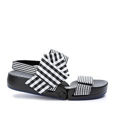 Figs by Figueroa Figulous Bow Gingham Taffeta Flex Sandal