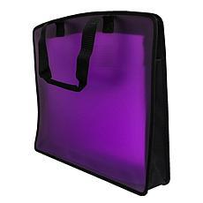"Filexec 21"" x 27"" My Carry All Tote Bag (Grape)"