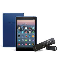 "Fire HD 10"" 32GB Tablet + Fire TV Stick HD Streaming Media Player"