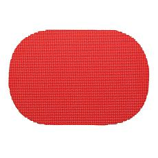 """Fishnet Oval Placemat - 17"""" x 12""""/Set of 12"""