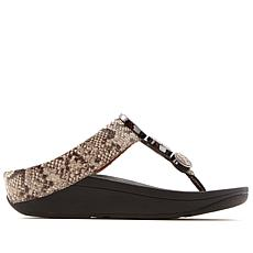 FitFlop Halo Leather Disk Thong Sandal