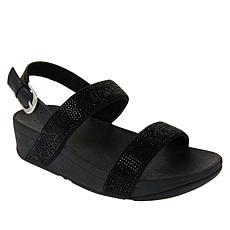 FitFlop Lottie Shimmer Crystal Slingback Sandal