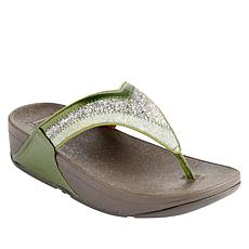 FitFlop Lulu Ombre Glitter Toe-Post Sandal