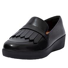 FitFlop Superskate Leather Fringe Loafer