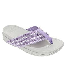 FitFlop Surfa Crystal Toe Post Sandal