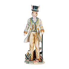 Fitz and Floyd Dapper Rabbits Male Figurine