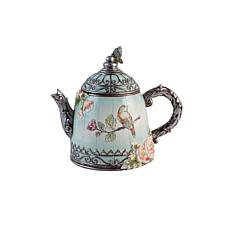 Fitz and Floyd English Garden Teapot