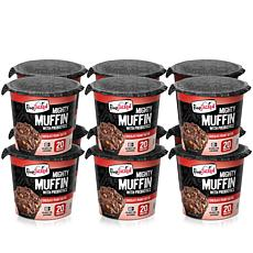 FlapJacked 12-pack of Chocolate Peanut Butter Mighty Muffins
