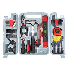 Fleming Supply 132-Piece Heat-Treated Tool Kit with Carrying Case