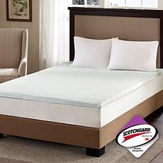 "Flexapedic by Sleep Philosophy 2"" Mattress Topper - Q"