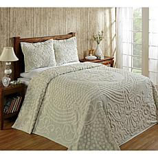 Florence 100% Cotton Tufted Chenille Bedspread - Twin