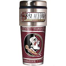 Florida State Seminoles Travel Tumbler w/ Metallic Graphics and Tea...