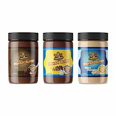 Fokken Nuts Chocolate Peanut Butter Collection 3-pack