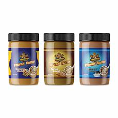 Fokken Nuts Cookie Peanut Butter Collection 3-pack