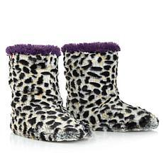 Foot Petals Faux Fur Slipper Boot
