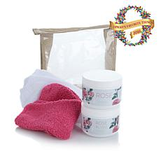 Footnanny Rose Treatment Set - Raspberry