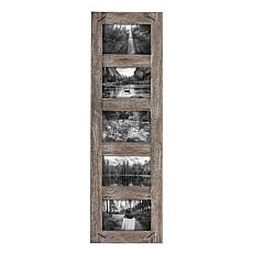 """Foreside Home & Garden 5-Photo 4x6"""" Wood Picture Frame w/ Nail Accents"""
