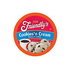 Friendly's Flavored Coffee Pods Cookies & Cream, 40-Count