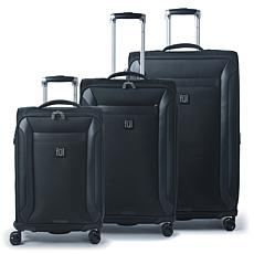FUL Heritage Classic Soft-Sided 3-Piece Luggage Set