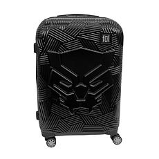 "FUL Marvel Black Panther Icon 29"" Hard-Sided Rolling Luggage, Black"