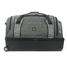 "FUL Workhorse 30"" Rolling Duffel Bag with Retractable Handle, Black"