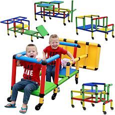 Funphix Create & play Life-Size Wheeled Structure Set
