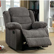 Furniture of America Ezra Chenille Recliner