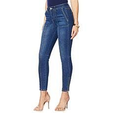 G by Giuliana Ankle-Zip Skinny Jean