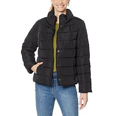 G by Giuliana Cropped Puffer Jacket with Vest Set