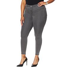 G by Giuliana G-Soft Faux Button Fly Denim Jegging