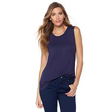 G by Giuliana Hi-Low Hem Jersey Tank